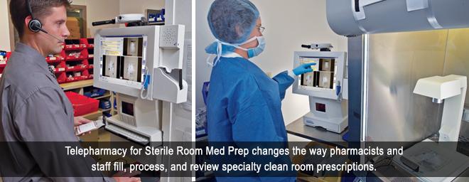 ScriptPro Sterile Room Med Prep