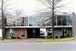 The upside down building, 1996